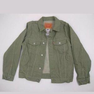 Levis Green Denim Jacket